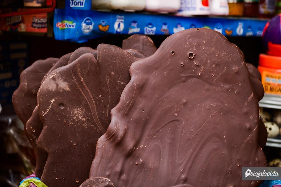 Chocolate gigante.