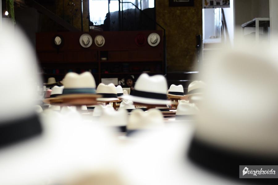 Abundancia de sombreros.