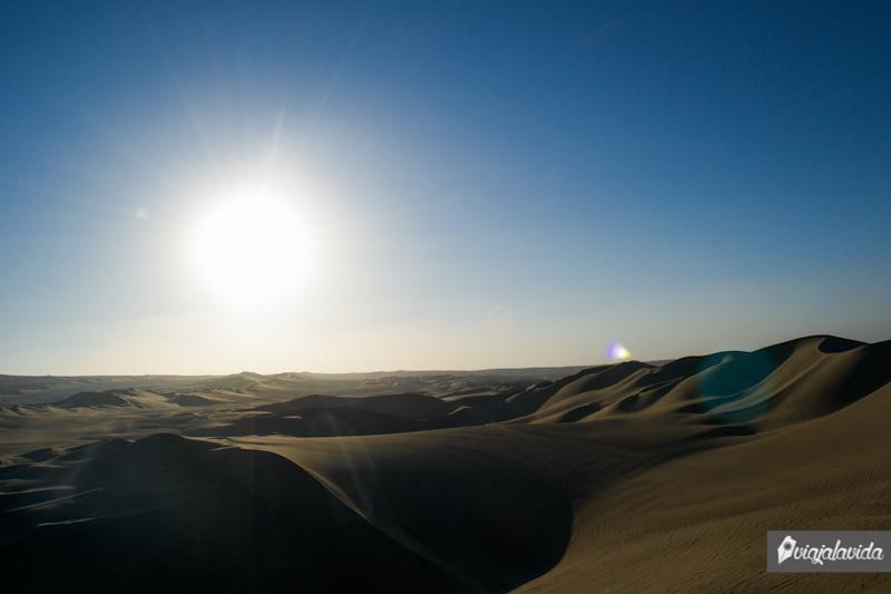 El gran desierto de Huacachina.