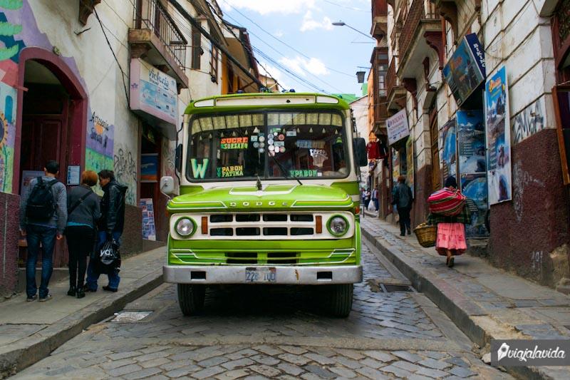 Bus de La Paz.
