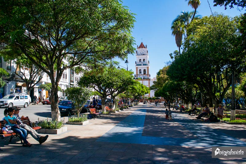Plaza Principal en Sucre.