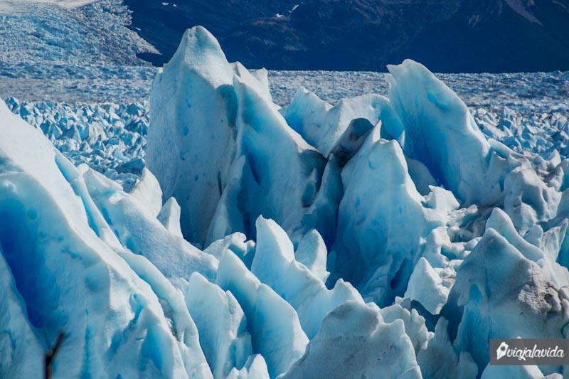 Acercamiento al Glaciar Perito Moreno.