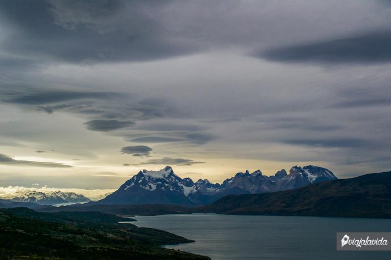 Nevados en las Torres del Paine.