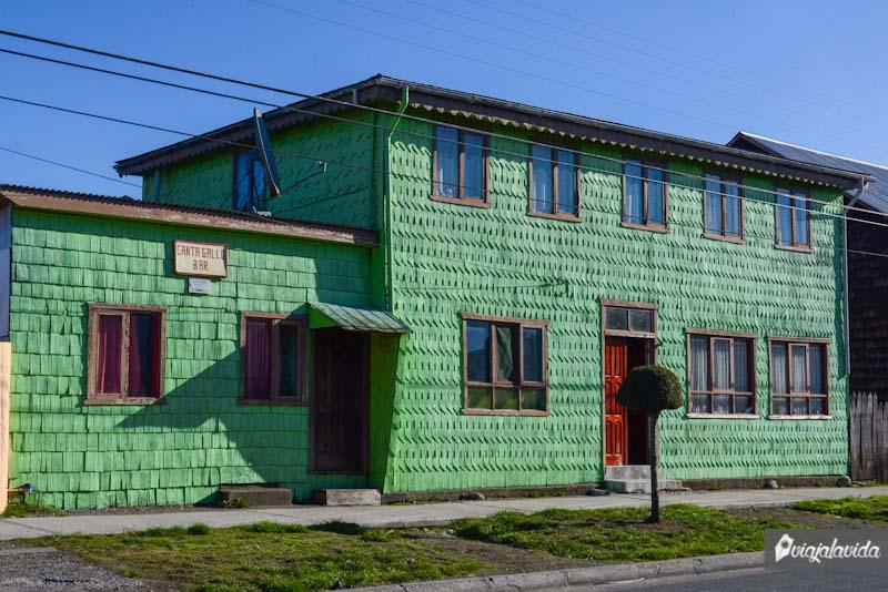 Casas de Chiloé.