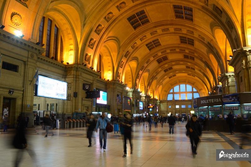Estación Constitución en Buenos Aires, Argentina.