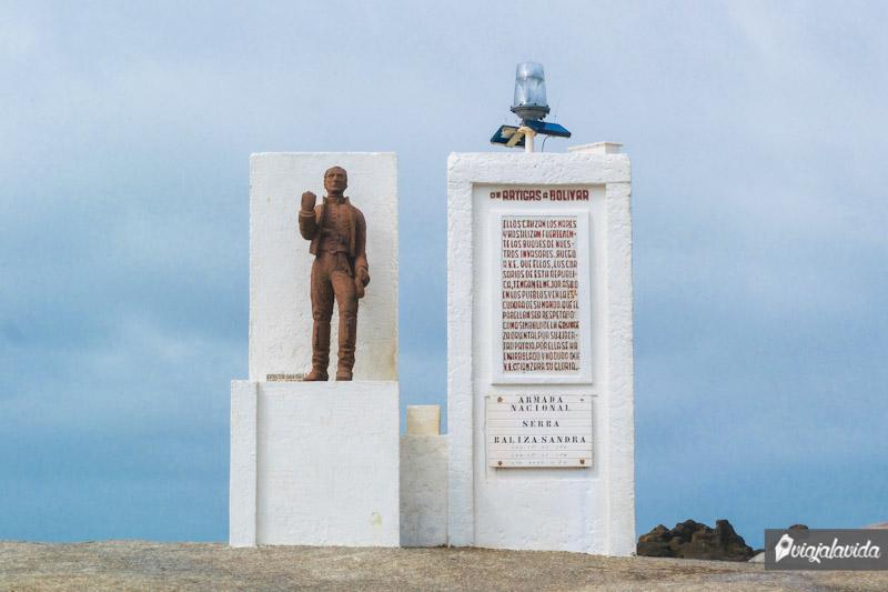 Monumento a Artigas.