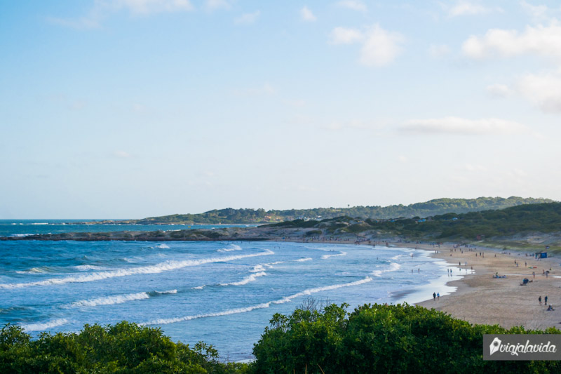 Playa en el Parque Nacional de Santa Teresa.