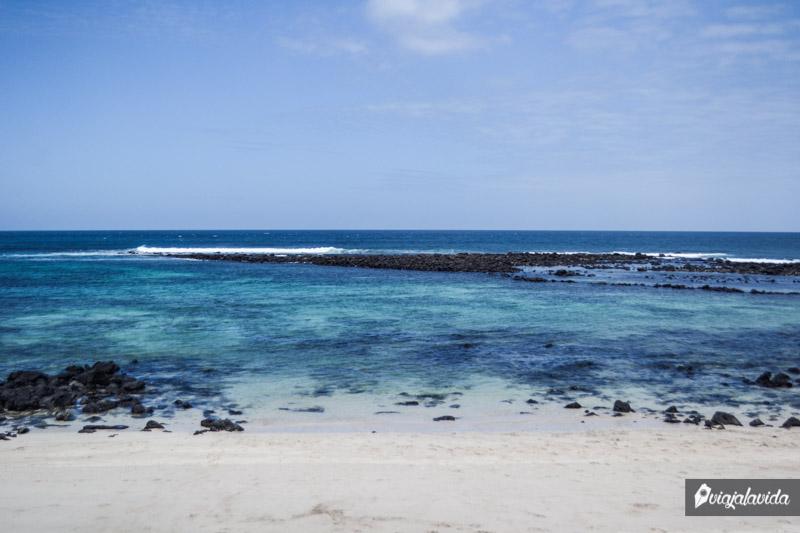 Playa La Lobería, San Cristóbal.
