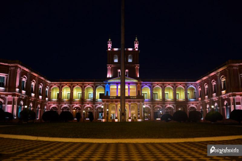 Palacio de Gobierno, Asunción.
