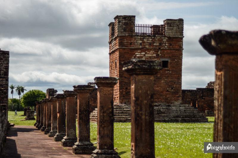 Ruinas Jesuíticas en Trinidad.