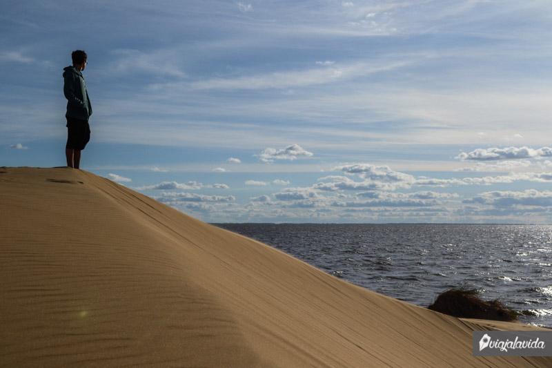 Dunas San Cosme y Damián en Paraguay