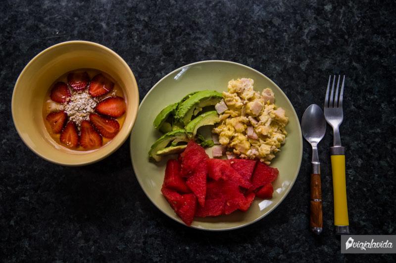 Cómo desayunar saludablemente.