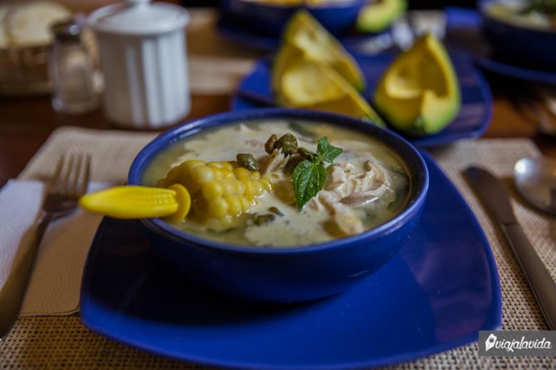 Comida típica de Colombia.