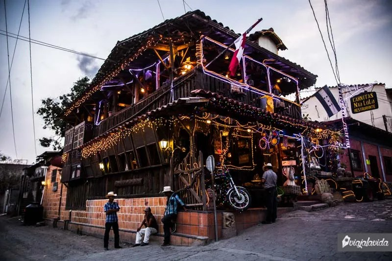 Restaurantes en Copán Ruinas.