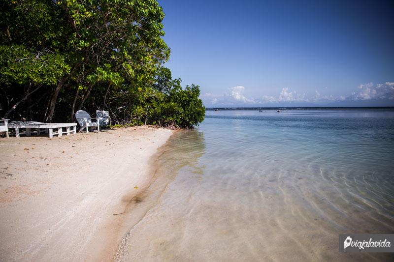 Playas paradisíacas del caribe hondureño.