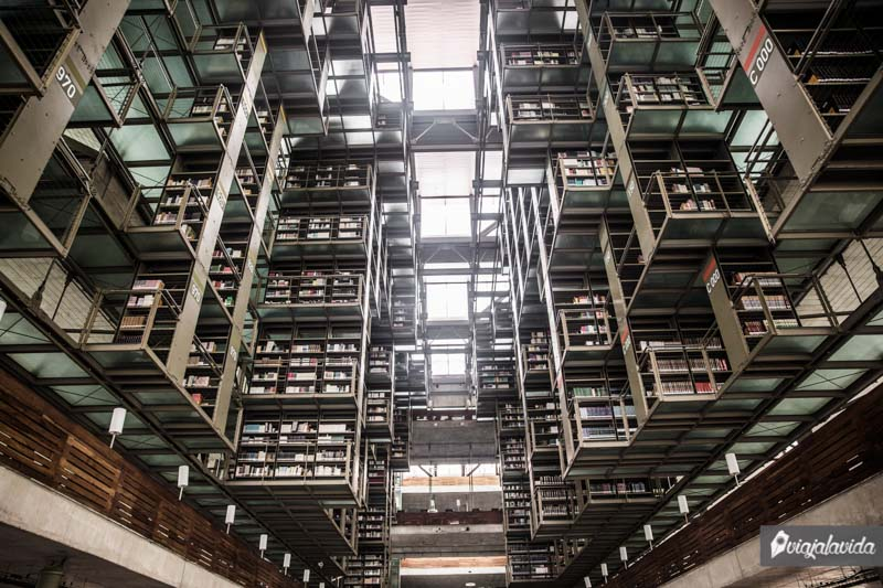 La biblioteca más grande de México.
