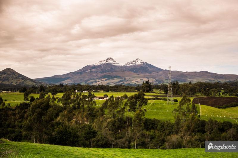 Los Ilinizas, Sierra de Ecuador.