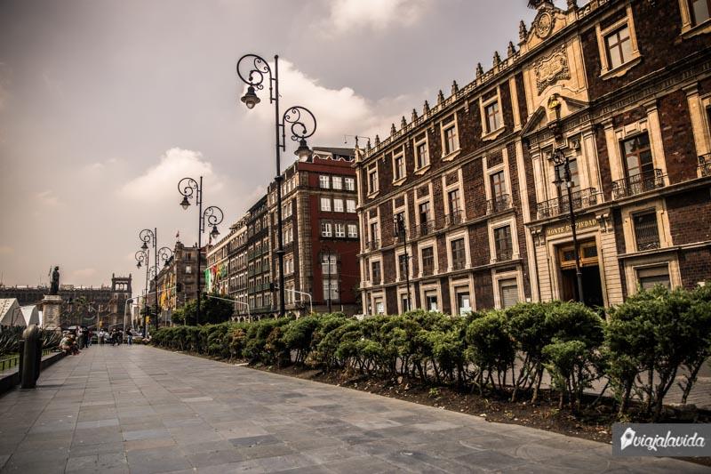 Zócalo de Ciudad de México.