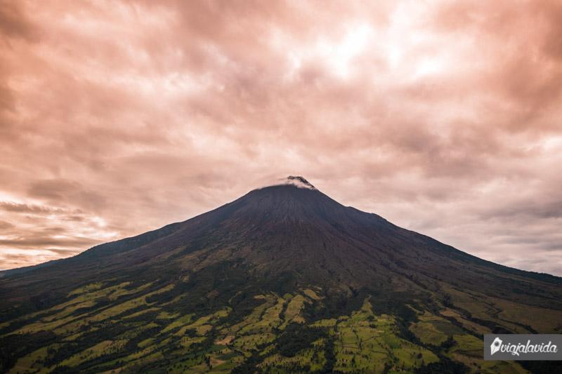 Volcán Tungurahua, Ecuador.