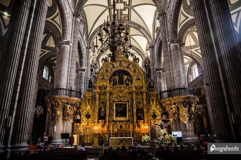 Catedral de México.
