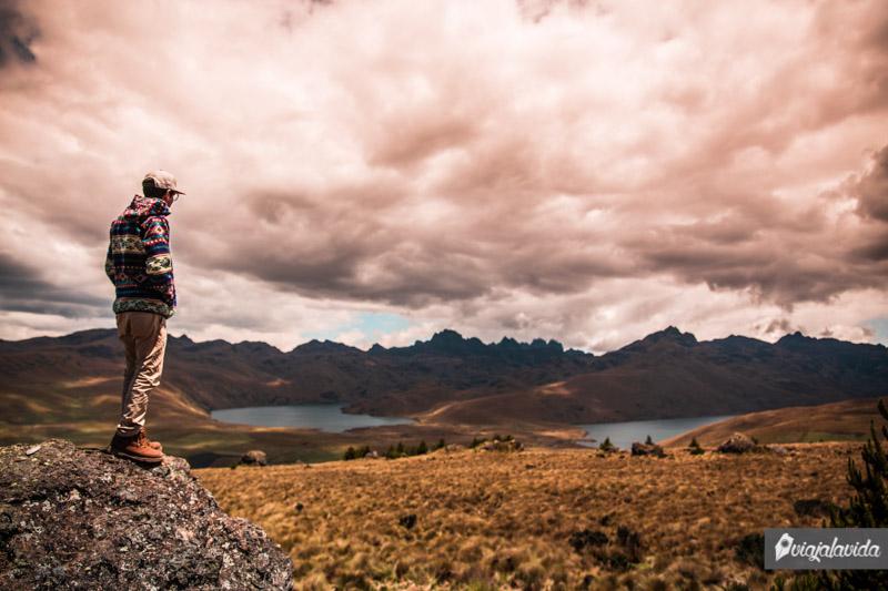 Lagunas de Ozogoche, Sierra de Ecuador.
