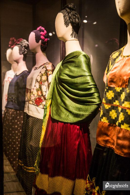 Vestidos de Frida Kahlo.