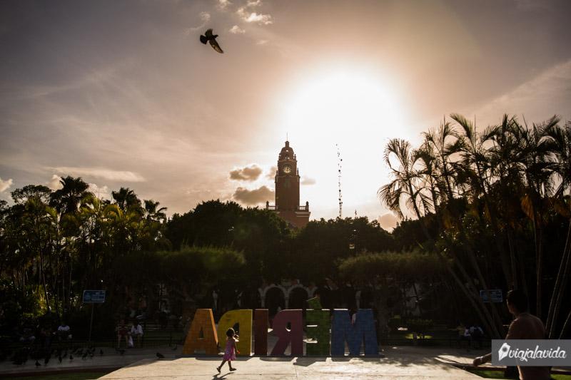 Letras de la ciudad de Mérida.