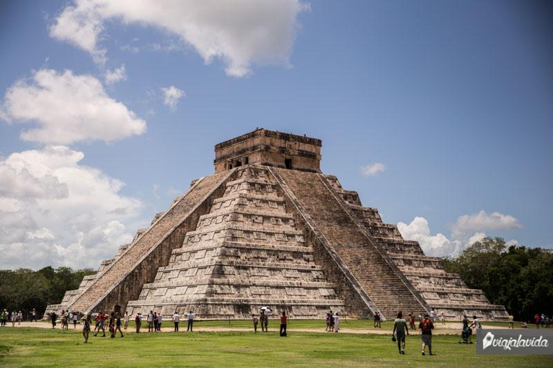 Pirámide en Chichén Itzá.