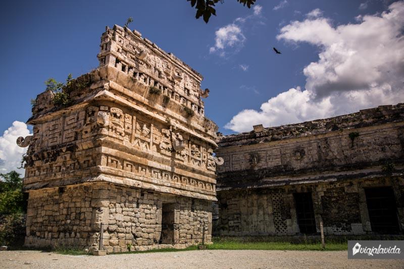 Edificios en Chichén Itzá.
