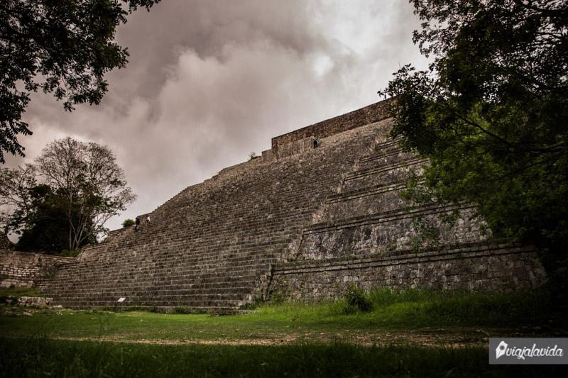 Gran Pirámide o Templo Mayor, Uxmal.