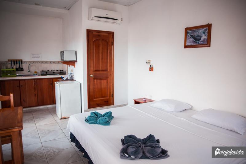 Hostel en la isla Santa Cruz, Galápagos