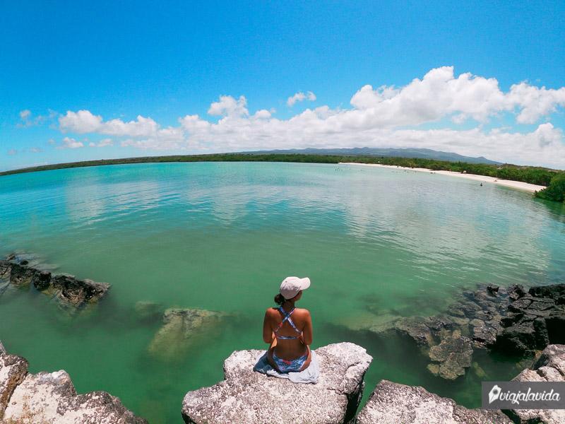 Otro rincón de Tortuga Bay