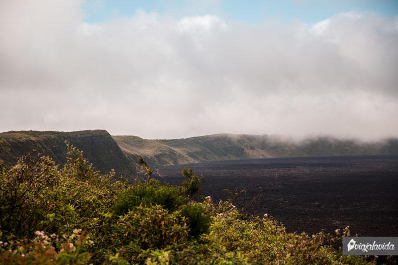 Cráter del Volcán Sierra Negra