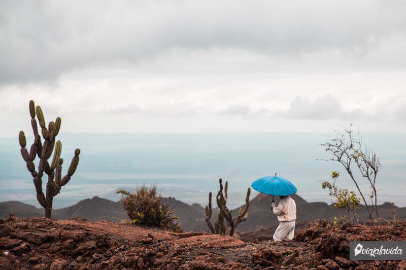 Caminata en el Volcán Sierra Negra