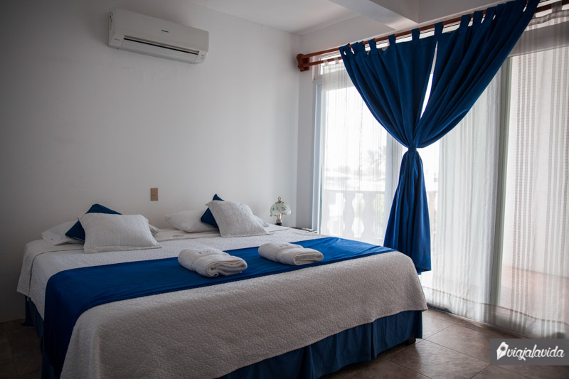 Hotel en la isla Isabela
