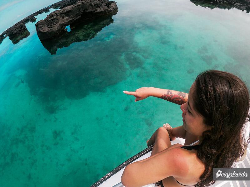 Tour los Túneles en isla Isabela