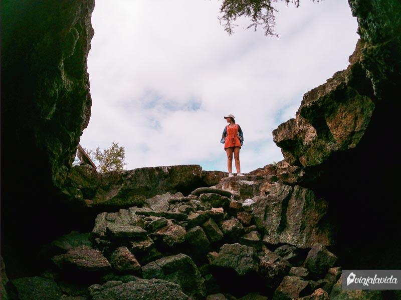 Túnel del Estero, en el camino al Muro de las Lágrimas