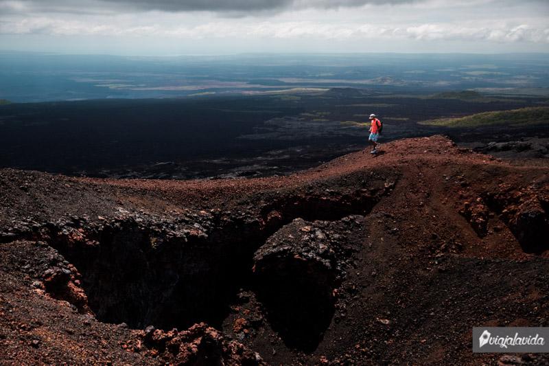 Volcán Chico, Isla Isabela