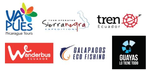 Colaboraciones con empresas de turismo