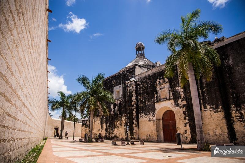 Baluarte de San Pedro en Campeche.
