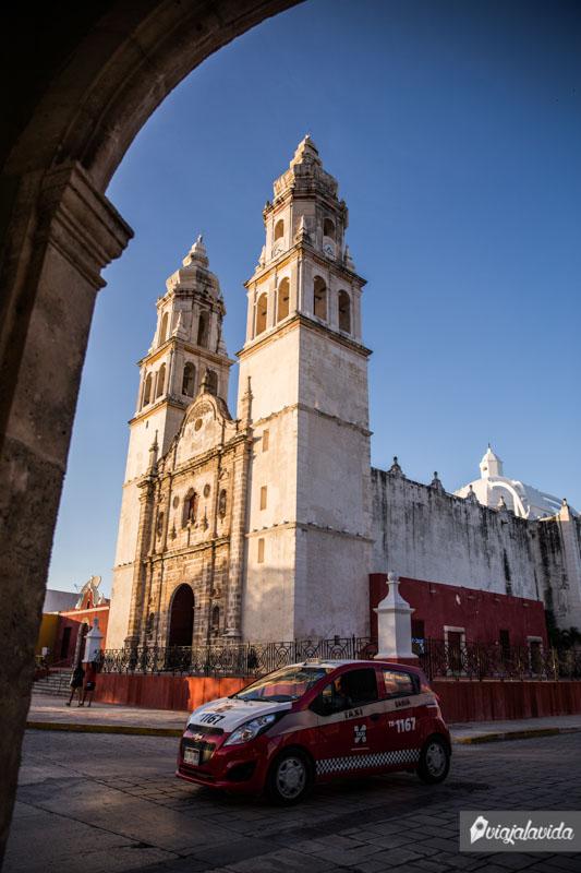 Catedral de Campeche.