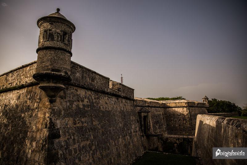 Fuerte De San Miguel en Campeche.