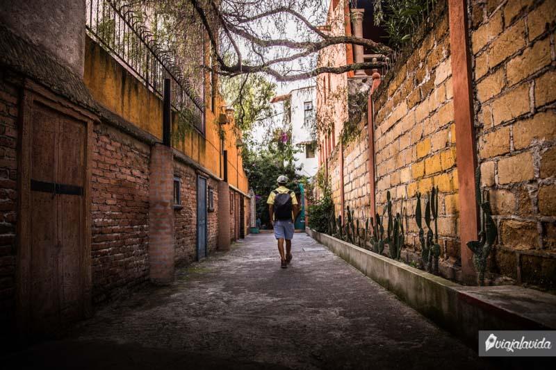 Callejón escondido en San Miguel de Allende
