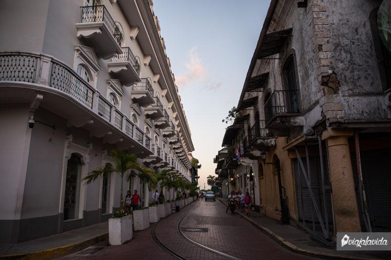 Casco Viejo de Ciudad de Panamá.