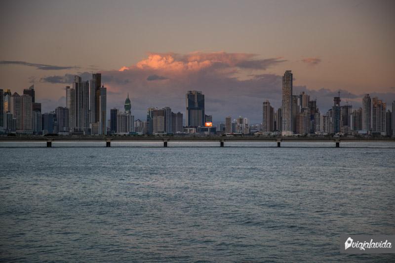 Edificios en Ciudad de Panamá.