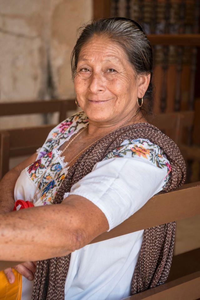 Abuela mexicana.