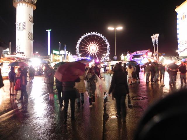 Choveu praticamente o dia todo, mas nada que pudesse atrapalhar a festa.
