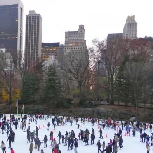 Uma das pistas de patinação no gelo.