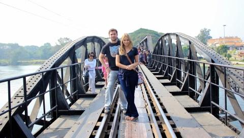 Esta é a Ponte sobre o rio Kwai.