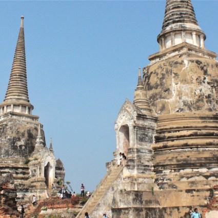 A histórica Ayutthaya e seus Buddhas decapitados
